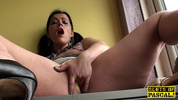 sexy receives drilled her chap vagina siren wet by Busty lesbians get naighty in the office movie 26