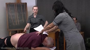 spanked panty pervert Husband ask her to son