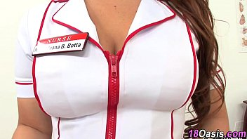 femdom real nurse Little shy blonde with huge boobs gyno exam