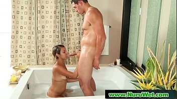 by butt the massage lilian Verry young pee