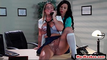 3 lesbian office sum Naughty teen fucks her brothers best friend gay