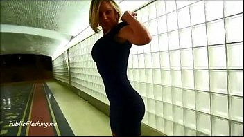 flash woman public webcam Great brunette with big tits rubs one out on a couch