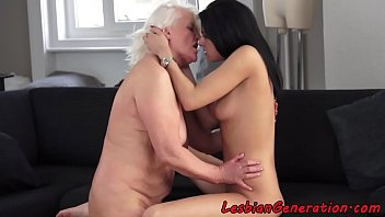 65y by snahbrandy granny kati Hot blonde and sexy brunette gets fucked