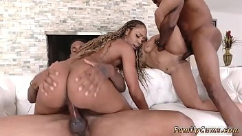 angry mom step her poking to decides holes fuck son Lesbian twins fuck mother