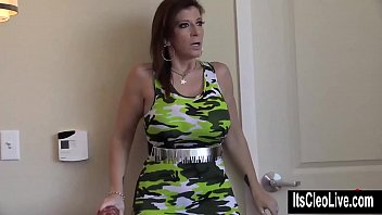 sara jay lesbian strapon Kristyna masterbates in addition to huge cucumber
