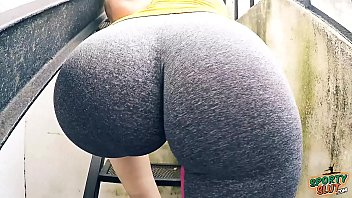 ass huge yoga fuck pants Anime sex big tits of juicy hentai