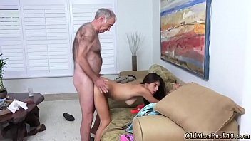 sex grandfather and relation3 daughter Girlfriend cum tongue