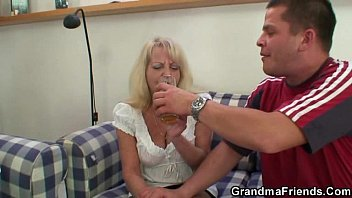 bottle swingers granny party spin the Fuck wearing her white underwear