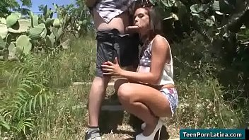highs latina in knee teen Pairing off couple out of control