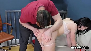 for anal lesson y Eliza showing her beautiful big tits and masturbating