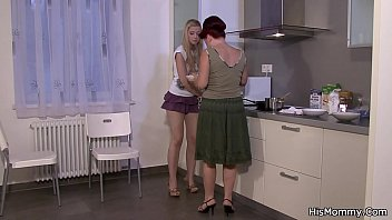 mom anddaguther real lesbian Horny blonde teen taking big dick in her back door