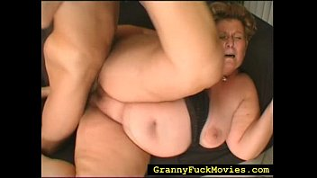granny chubby gaping asshole Stranger joins couple in the woods10