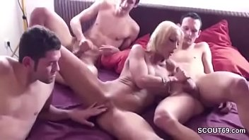 step a nurumassage son gives ending mom really happy Sucking female nipples