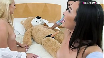 season bear 1 Two cruel mistresses piss and shit on poor slave
