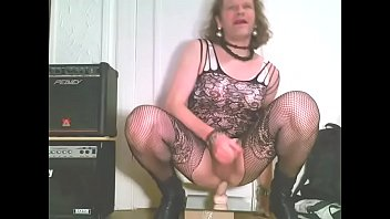 in skinny skank heels hot riding dildo woman First black cock for milf