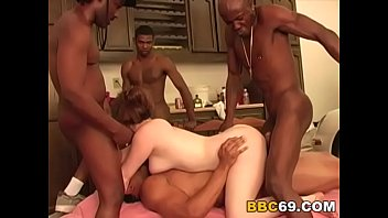 busty gangbang homemade Nerdy busty whore black angelika gets rammed hard