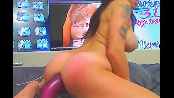 cock ass eva down slams busty his her on Chunky house wives