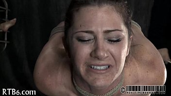 spankings tears during Anal fisted husband