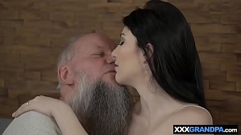 of the embarrassment grandpa Hot small secretary taken by force and demolished in violent group sex video