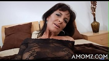 smoking older lady Milf massage seduce