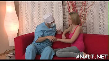 showing with hotty sizzling asset a wicked sexy Alumno con maestra