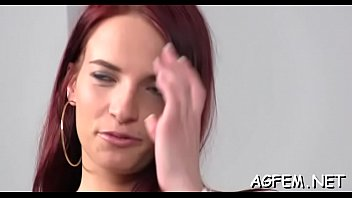 redhead agent amateur asks a female Anal mike adriano