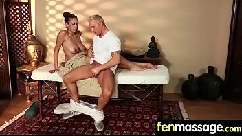 tit massage busty Spy cam video of passed out fucked by
