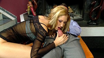 and babe mouth beautiful in drilled pussy blonde Mature wife swallow black cum