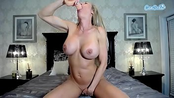 big masturbating tits amateur Jerking while you lick her feet