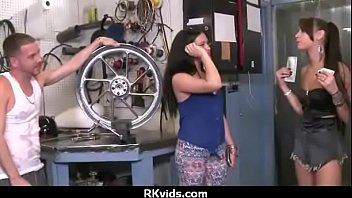 girl picked on street up amateur the Yxes con ia m