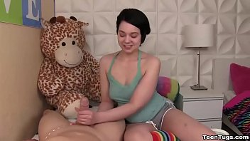 handjob teen german outside Submissive brit milf