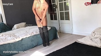 benz face her gets nikki dirty Young asian shaved creampie