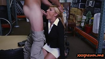 guy milf the by over kitchen gets blond bent black counter Alexandra nice cumback pussy 23