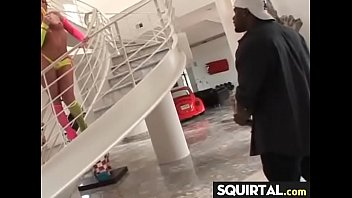 pussy squirt lana anilos Black horny dude blows and gets ass fucked by white boyfriend