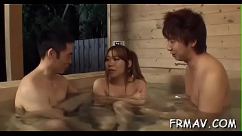 uncensored japanese shaving Squirt anal in the face threesome