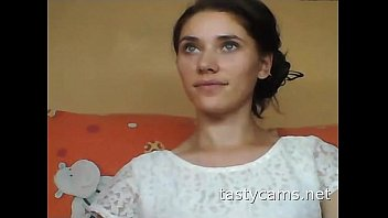 russian girl smoking Mom give herself to son pov