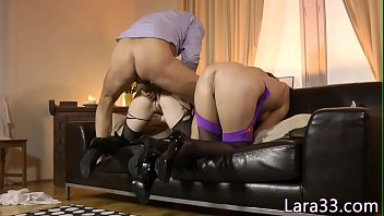 out in two enjoy stockings making milfs classy Daddy rape son deep