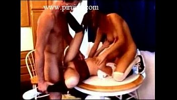 she doesnt he care but him begs stop painful to so Japanese mom on kitchen